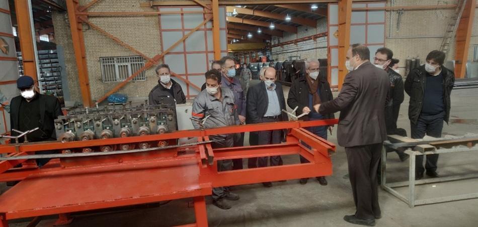 بازدید از خط تولید شرکت ساتها و برگزاری جلسه هم اندیشی مدیران عامل مجموعه شرکت های هلدینگ پرشیا فلز اسپادانا با رعایت تمامی پروتکل های بهداشتی