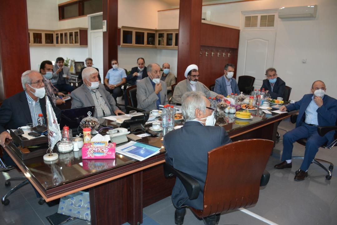 برگزاری مجمع موسسه خیریه قائم الرضا در تاریخ شهریور 1399