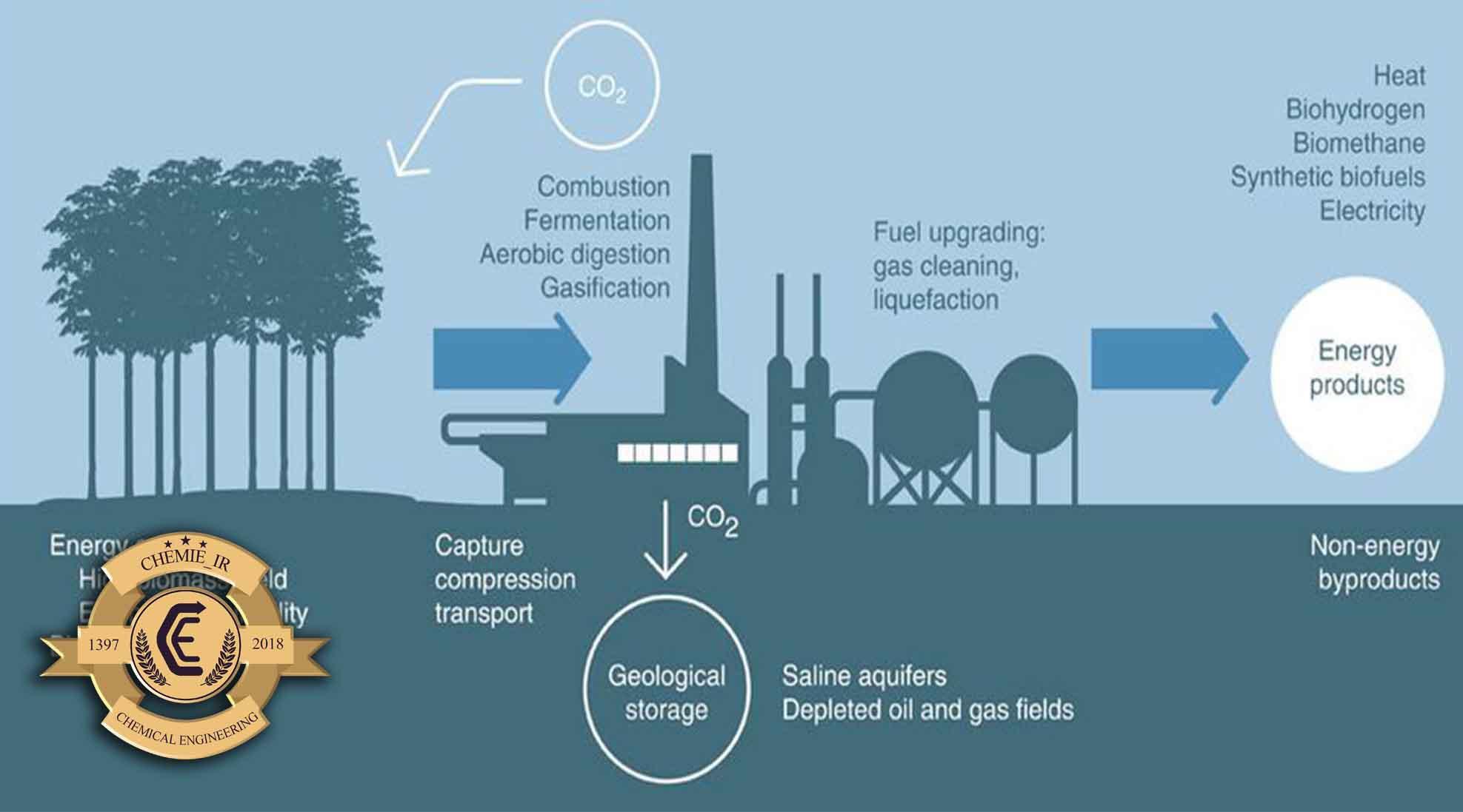 رویکردهای جذب و ذخیره کربن