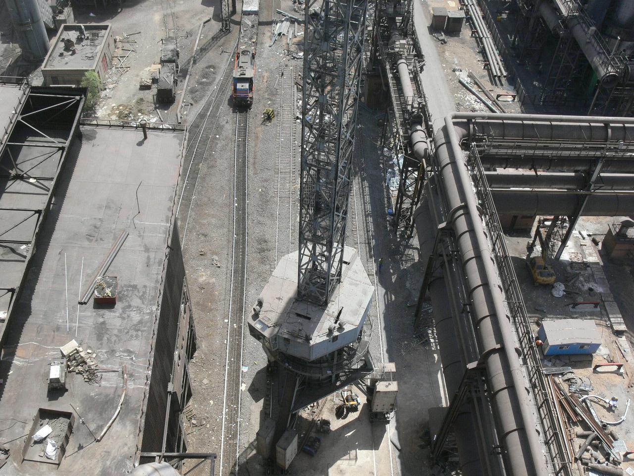 پروژه: اصلاح سیستم بارگیری(بدون زنگ) کوره بلند 2 ذوب آهن اصفهان