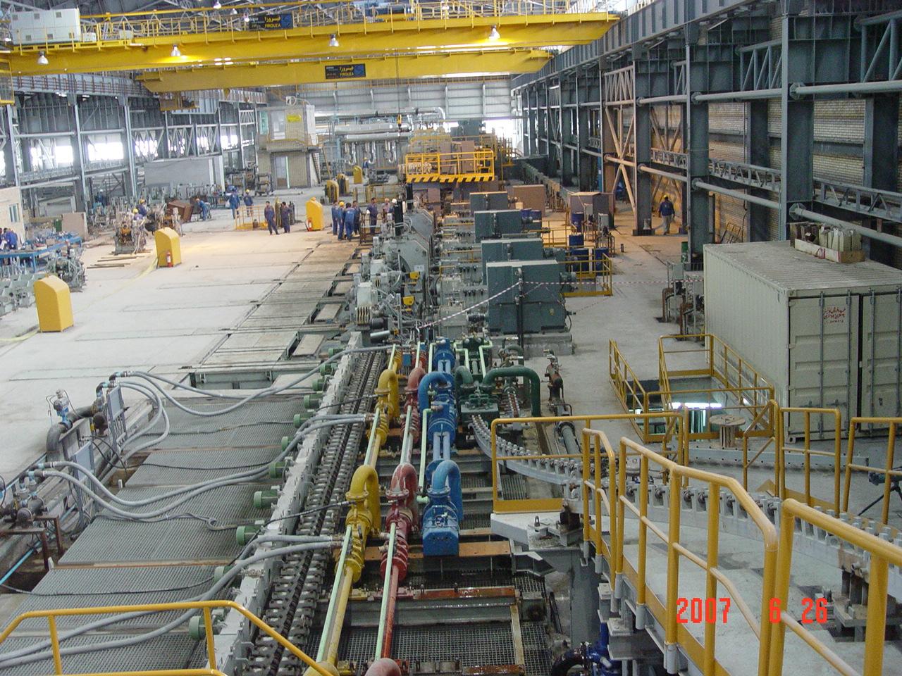 پروژه فولاد کویر