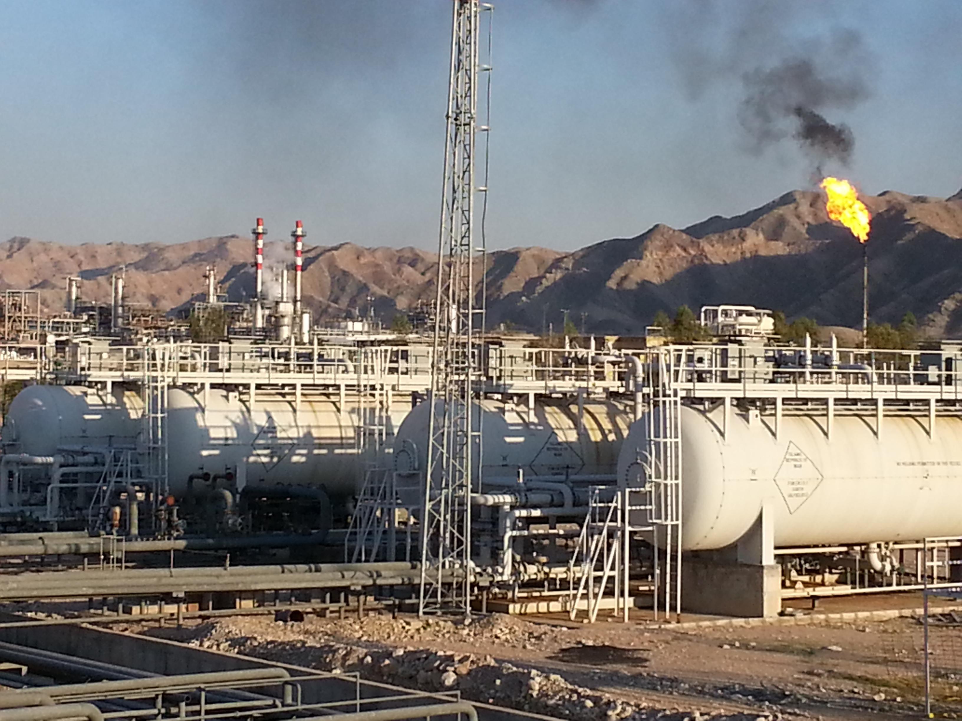 پروژه: نمک زدایی نفت چاه های گچساران