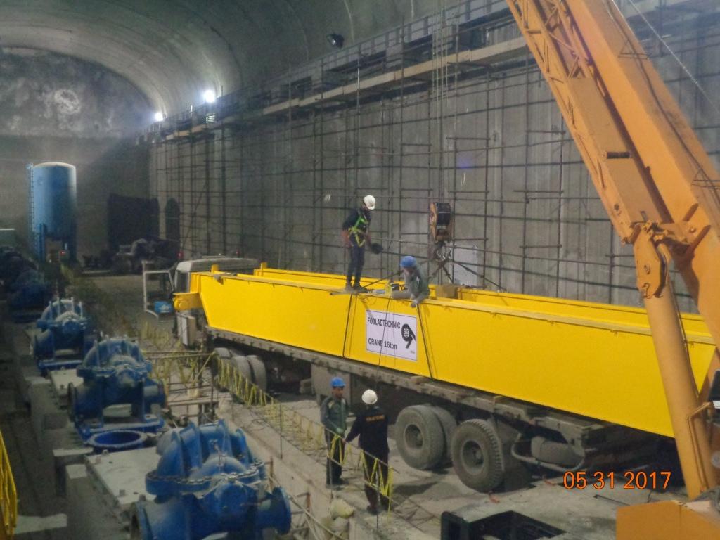 پروژه:  ایستگاه پمپخانه آب زیرزمینی کاشان