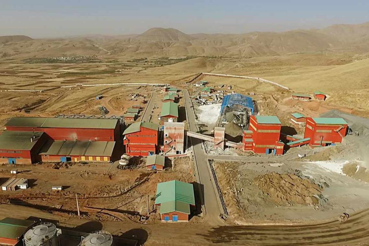 پروژه:  توسعه کارخانه طلای زرشوران