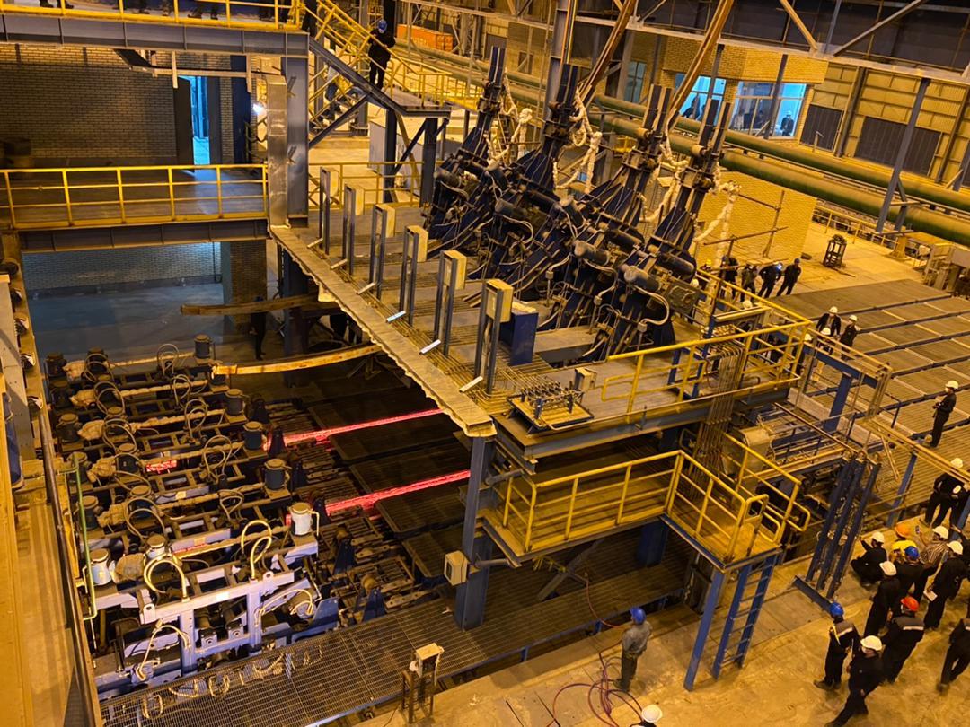 پیام تبریک مدیریت محترم عامل در پی راه اندازی موفقیت آمیز واحد فولادسازی مجتمع فولاد زرند ایرانیان و تولید شمش فولادی